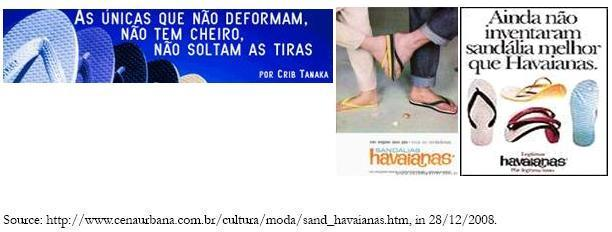 dc6e0b9d8 Figure 3 - Havaianas advertising campaign in the sixties and in the eighties