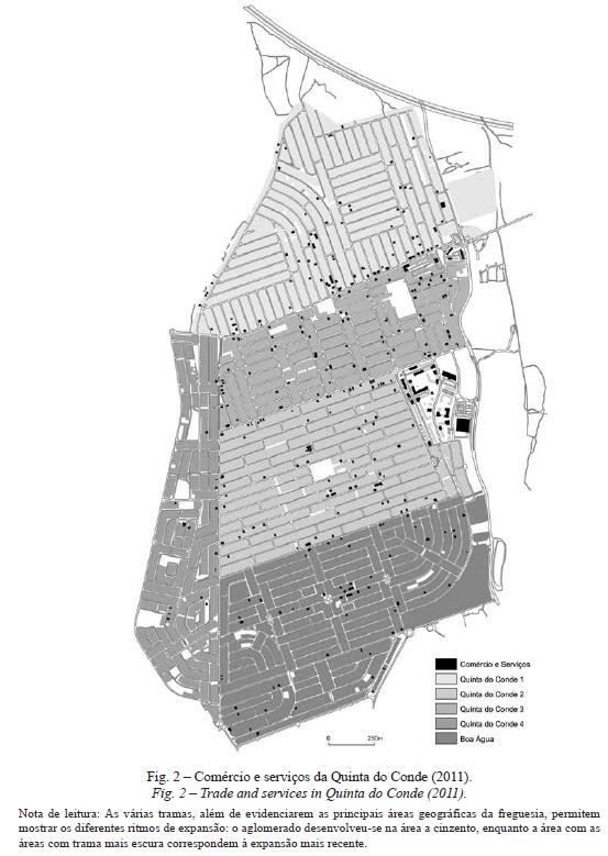 quinta do conde mapa Comércio e serviços em áreas urbanas de génese ilegal. O caso da  quinta do conde mapa